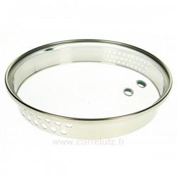 Couvercle seul diamètre 20 cm Virgo Bergoff, reference CL50159113