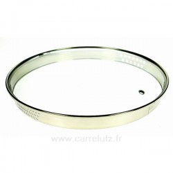 Couvercle seul diamètre 28 cm Virgo Bergoff, reference CL50159115