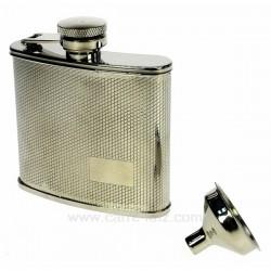 Flasque argente Cadeaux - Décoration CL50180023, reference CL50180023