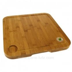 Planche a decouper bambou 35x35 La cuisine CL50200014, reference CL50200014