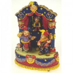 BOITE a MUSIQUE CIRQUE Carrousel manège et boite à musique CL50230010, reference CL50230010