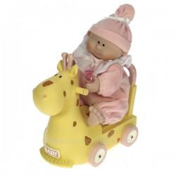 Bebe fille girafe Carrousel manège et boite à musique CL50231030, reference CL50231030