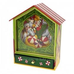 Maison cirque Carrousel manège et boite à musique CL50231031, reference CL50231031