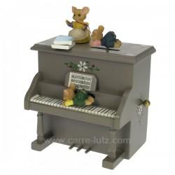 Piano ourson Carrousel manège et boite à musique CL50231042, reference CL50231042