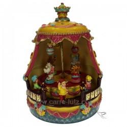 Manege cirque Carrousel manège et boite à musique CL50231082, reference CL50231082