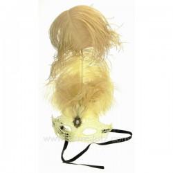 Masque de venise civette dentelle Masque de Venise CL50240395, reference CL50240395