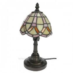 Lampe style Tiffany Cadeaux - Décoration CL50250064, reference CL50250064