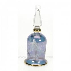 Clochette en verre bleu Cadeaux - Décoration CL55000002, reference CL55000002