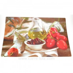 Set de table par 6 tomates Arts de la table CL70000030, reference CL70000030