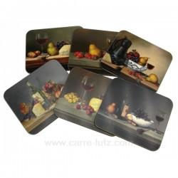 Dessous de verres vin fromages Arts de la table CL70000039, reference CL70000039