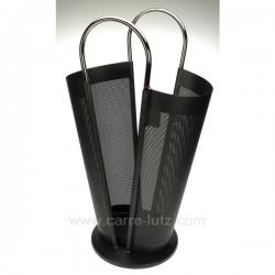 Porte parapluie anthracite Cadeaux - Décoration CL83000044, reference CL83000044