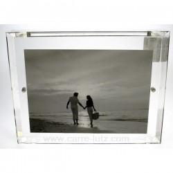 cadre acrylique biseaute Cadeaux - Décoration CL84000039, reference CL84000039
