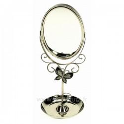 Miroir de coiffeuse papillon mauve, reference CL85001015