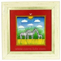 Cadre enfant theme zebre Cadeaux - Décoration CL90000250, reference CL90000250