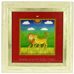 Cadre enfant theme lion Cadeaux - Décoration CL90000251, reference CL90000251