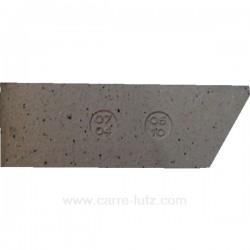 Brique arrière verticale droite 07040510 pour cuisinière De Dietrich 1704A 2704A , reference DD07040510