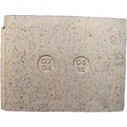 Brique arrière 07040515 pour cuisinière De Dietrich 1704A 2704A , reference DD07040515