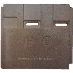 Brique arrière verticlale droite 25050503 pour cuisinière De Dietrich 1505A 1505B 2505B , reference DD25050503