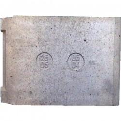 Brique arrière 25050504 pour cuisinière De Dietrich 1505A 1505B 2505B BS5552F11 BS6553F11 BW5552F11 BW6553F11 , reference DD2...