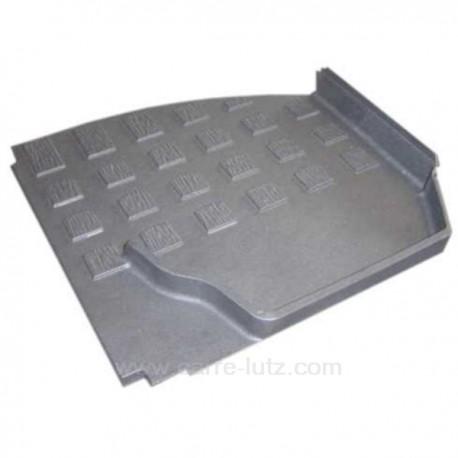 Plaque laérale gauche P0021589 pour foyer insert Deville 7836 7861 7863 7865 7866 7867 7868 7887 7888 CO7836 CO7861 CO7863 CO...
