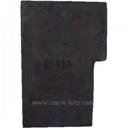 Brique arrière de foyer P0020932 pour cuisinière bois charbon Deville 8611 , reference DV02093200