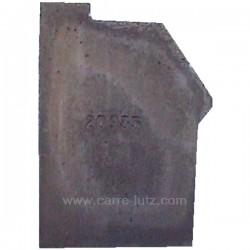 Brique avant gauche P0020935 pour cuisinière bois charbon Deville 8611 , reference DV02093500