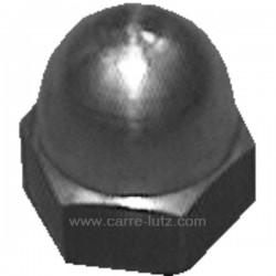 Ecrou borgne M8 en laiton pour convecteur Efel , reference F12430