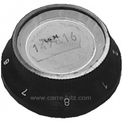Manette de thermostat axe court de convecteur Franco Belge 149816 , reference FB149816