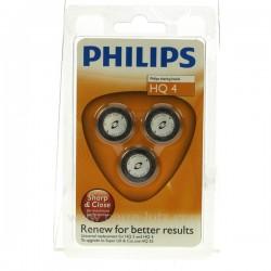 3 Grilles de rasoir HQ4 Philips Petit ménager HQ4, reference HQ4