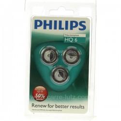 Grille de rasoir par 3 Philips quadra action, reference HQ6
