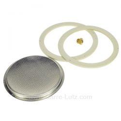 Filtre + 2 joints + soupape pour Moka 12 Tasses , reference 853023