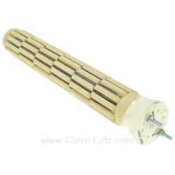 Résistance stéatite à barillets 52x350 1800W 230V monophasé de chauffe eau , reference 703613M