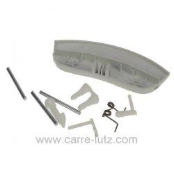 Poignée de hublot de lave linge Homeking Hyundai Teka Vestel ref. 42038993 42004896 Welco, reference 405268