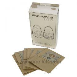 Sacs d'aspirateur par 6 Rowenta ZR001701 booly gimini , reference 802370