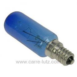 Ampoule bleu de réfrigérateur E14 25W 230V Samsung Bosch Siemens 00612235 , reference 542063