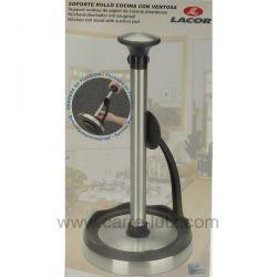 Support rouleau papier de cuisine en inox brossé 50302 Lacor , reference 991LC50302