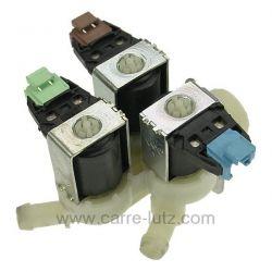 Electrovanne 3 VOIES 180° de lave linge Fagor Brandt 52x3570 , reference 209045