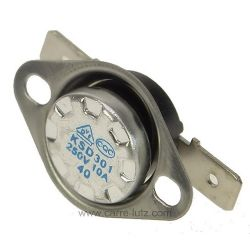 Thermostat NC 40° avec fixation , reference 222240