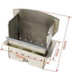 Creuset P0026841 pour poele a granulé Deville C07707 , reference DV0026841