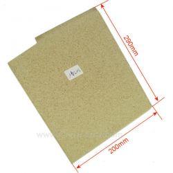 Brique gauche vermiculite P0051941 Deville , reference DV0051941
