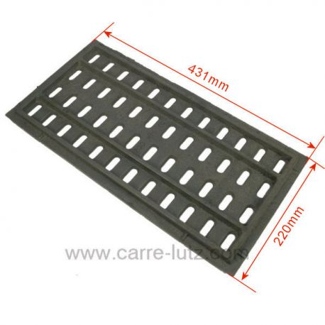 Grille de foyer 700NM10 pour insert Godin 3175 3170, reference 704957