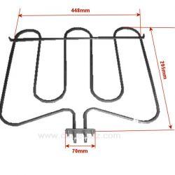806890084 - Résistance de sole 1300W de four Brandt Siemens Whirlpool Smeg