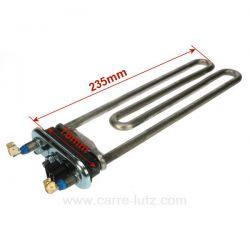 Résistance 1321807115 de lave linge 1950W A-Martin Electrolux Faure Zanussi L50820 L52400 L52810 L62810 L6415 L64600 L74810 L...