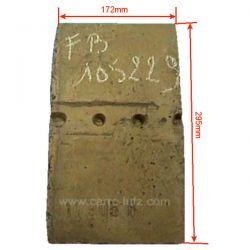 Supplement de brique arrière 1240701 de convecteur Franco Belge 105229, reference FB105229