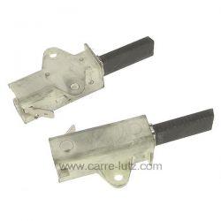 Jeu de charbon moteur de lave linge Indesit Ariston C00025294 Electrolux Faure 50265483003 , reference 715720