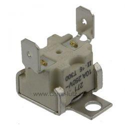 Thermostat de sécurité 270° de four Electrolux 3570560015 , reference 222261
