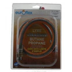 Lyre inox butane propane 70 cm sans date limite d'utilisation , reference 737017