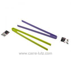 Pince silicone 29 cm en inox recouvert de silicone , reference 991IB512