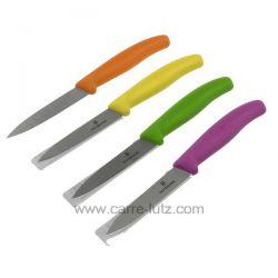 Couteau office Victorinox manche plastique couleur , reference CL14006092