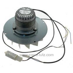 Ventilateur extracteur de fumée EBM R2E180 de poele a pellet , reference 231098